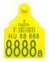Füljelző - ENAR  Supermaxi klippel - sárga